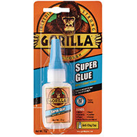 Gorilla Incredibly Strong, Waterproof Genral Purpose Super Glue 15g 4044201
