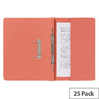 Guildhall Pocket Spiral File Orange 347-Orgz Pk25