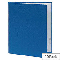 Guildhall A4 Ring Binder 30mm 2 Ring Blue Pack of 10 222/0001Z