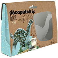 Decopatch Mini Kit Dinosaur Pack of 5 KIT011O