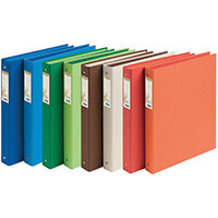 Forever Ring Binder 30mm Assorted Pack of 10 54980E