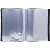 Iderama Display Book 40 Pocket Assorted Pack of 12 85870E