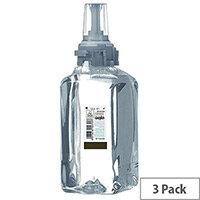 GOJO Mild Foam Hand Wash Fragrance Free ADX-12 Refill Cartridges 1250ml (Pack 3) 8811-03-EEU00