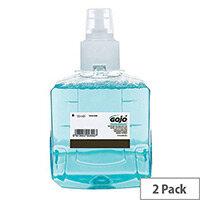 Gojo Freshberry Foam Hand Wash LTX-12 1200ml Refill Cartridges (Pack of 2) 1916-02-EEU