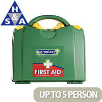 Astroplast Green Box HSA First Aid Travel Kit Food Hygiene Up to 5 Person