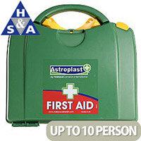 Astroplast Green Box HSA 1-10 Person Food Hygiene First Aid Kit