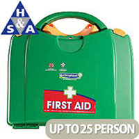 Astroplast Green Box HSA 11-25 Person Food Hygiene First Aid Kit Incl. Eyewash & Burns 1003642