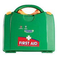 Green Box HSA Travel First Aid Kit Food Hygiene Incl Eye Wash & Burns