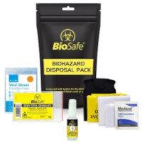 Biohazard Body Fluid Disposal Kit Single Application 1011004