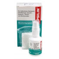 YPSILIN Wound Cleansing Wash Set (Wash Spray 50ml + Gauze Swabs x10) 1035060