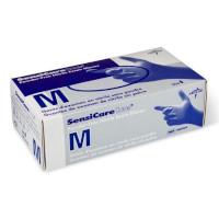 SensiCare Ice Nitrile Gloves Powder Free Box of 200 Size Medium