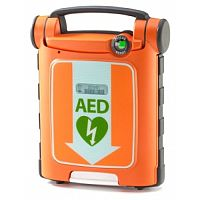 Cardiac Science Powerheart G5 AED CPR Semi Automatic Defibrillator  With ICPR Pads 4 Years Battery