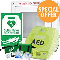 ZOLL AED Plus CPR INDOOR Defibrillator Bundle 5002002BI