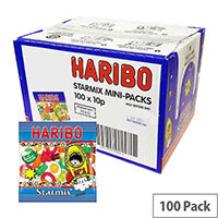 Haribo Starmix Small Bags Jelly Sweets (Pack of 100) 72443
