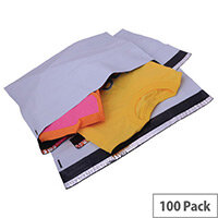 Strong Polythene Mailing Bag 440x320mm Opaque Protective Envelopes Pack of 100