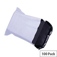Strong White Polythene Mailing Bag 335x430mm Protective Envelopes Pack of 100