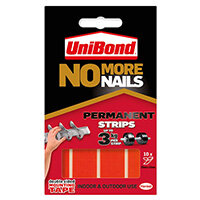 Unibond No More Nails Permanent Strip Ultra Strong 3kg 10 Strips