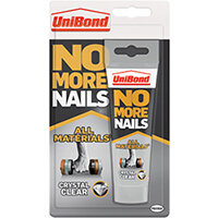 No More Nails All Materials Grab Adhesive Tube Clear 90g 2556916