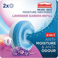 Unibond Aero 360 Lavender Garden Refills Pack of 2 2631291