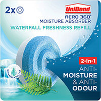 Unibond Aero 360 Waterfall Freshness Refill Pack of 2 2631290