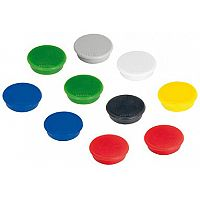 Franken Tacking Magnets Round 24mm Assorted Colours Pack of 10 HM20 99