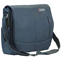 "Monolith Motion II Courier Messenger Laptop Bag 15.6"" Black"