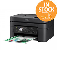 Epson WorkForce WF-2830DWF - Multifunction Printer (Print, Copy, Scan, Fax) - Colour - Ink-Jet - Size of A4/Legal - up to 33 ppm - 100 Sheets Feeder - 33.6 Kbps - USB 2.0, Wi-Fi(n)