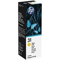 HP 31 70ml Yellow Ink Bottle 1VU28AE