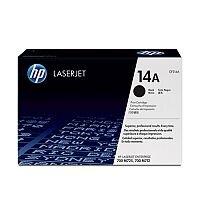 Hewlett Packard No14A Toner Cartridge Black CF214A