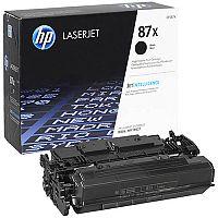HP 87X Black High Yield Toner Cartridge CF287X