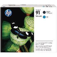 HP 91 Matte Black and Cyan Printhead P2V35A