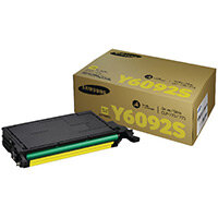 Samsung CLT-Y6092S Yellow Standard Yield Toner Cartridge SU559A