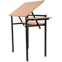 Drawing Table With Adjustable Top  #SSD