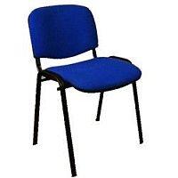 Staff Room Chair Cobalt Blue Fabric SIEI