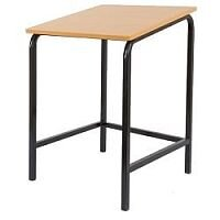 Single Student Table Sloped Top 600x600x700mm  #SSD