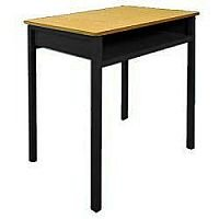 Single Student Table With Book Box  #SSD