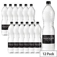 Harrogate Spring Bottled Water Still 1.5L Pack of 12