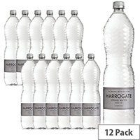 Harrogate Spring Bottled Water Sparkling 1.5L Pack of 12