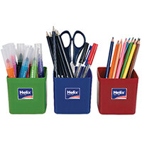 Helix Pencil Pots Assorted Pack of 12 753810