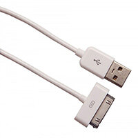Urban Factory Cable USB to 30pin MFI certified - White 1m, White, USB A, Apple 30-pin, 1 m, Male, Male