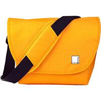 Urban Factory B-Colors SLR Camera Case Orange/Green, Messenger case, Any brand, Shoulder strap, Green, Orange