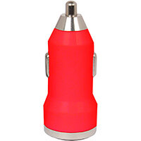 Urban Factory Car Charger 1x USB, Red, Auto, Cigar lighter, 1 A, Red