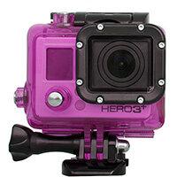 Urban Factory Waterproof Case Pink: for GoPro Hero3 and 3+ cameras, GoPro Hero3, Hero 3+, Pink