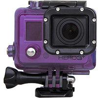 Urban Factory Waterproof Case Purple: for GoPro Hero3 and 3+ cameras, Camera housing, Purple