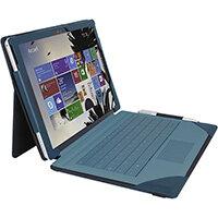 """Urban Factory Elegant Folio Case for Microsoft Surface 3, Teal, Folio, Microsoft, Surface Pro 4, 31.2 cm (12.3""""), 360 g"""