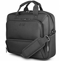 "Urban Factory MIXEE MTC17UF Carrying Case for 43.9 cm (17.3"") Notebook - Black - Drop Resistant, Abrasion Resistant Interior, Water Resistant, Shock Absorbing, Splash Resistant"