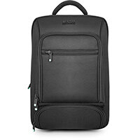 """Urban Factory Mixee Laptop Backpack 14.1"""" Black, Unisex, 35.6 cm (14""""), Notebook compartment, Nylon, Polyester"""