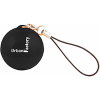 Urban Factory Music Ball Black - transforms any container to a speaker using vibrations, -, 1.0 channels, 3.5 cm, 2 W, 50 - 20000 Hz, Wired, Black