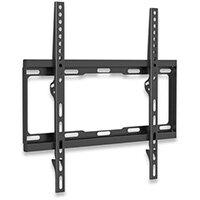 "Manhattan TV & Monitor Mount, Wall, Fixed, 1 screen, Screen Sizes: 32-55"", Black, VESA 200x200 to 400x400mm, Max 40kg, LFD, Lifetime Warranty, 40 kg, 81.3 cm (32""), 139.7 cm (55""), 400 x 400 mm, 400 x 400 mm, Black"