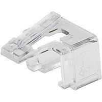 Intellinet RJ45 Repair Clip, For RJ45 modular plug, Transparent, 50 pack, 50 pc(s)